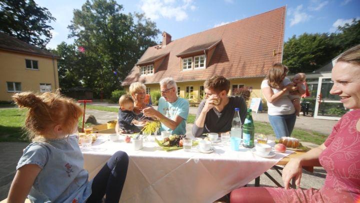 Mit Berg- und Familienhaus ideal für Schulklassen, Seminare oder Familienurlaub
