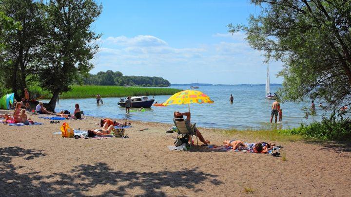 """Badestrand Campingplatz """"Bolter Ufer"""""""