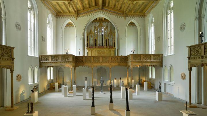 Plastikgalerie Schlosskirche