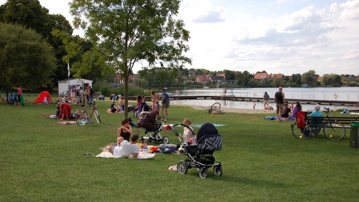 Strandbad Zarrentin 1