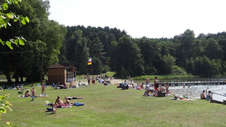 """Strandbad """"Weisser See"""" Wesenberg"""