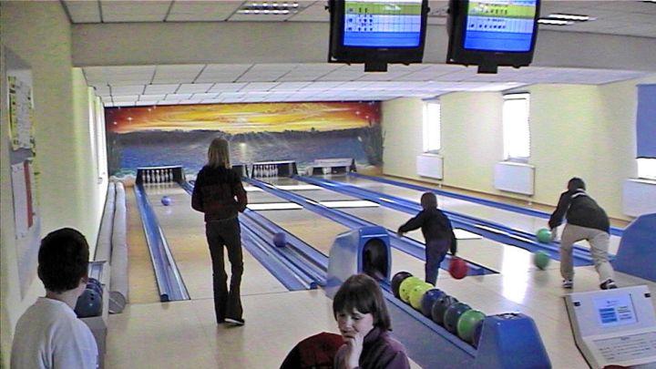 Bowling-Center, Strandhotel Plau am See