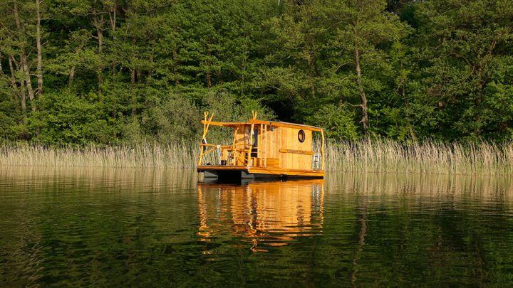 Treibgut Floß